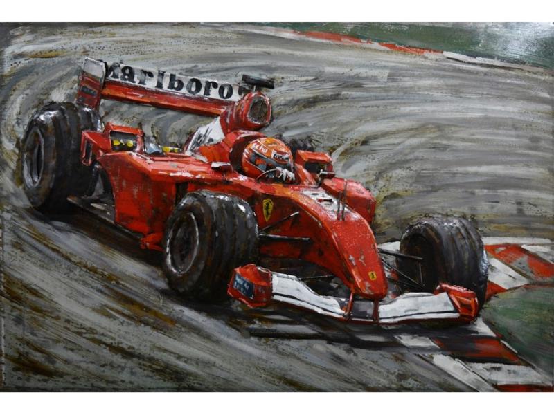 """Metalen schilderij """"Marlboro"""" TBW001804sc"""
