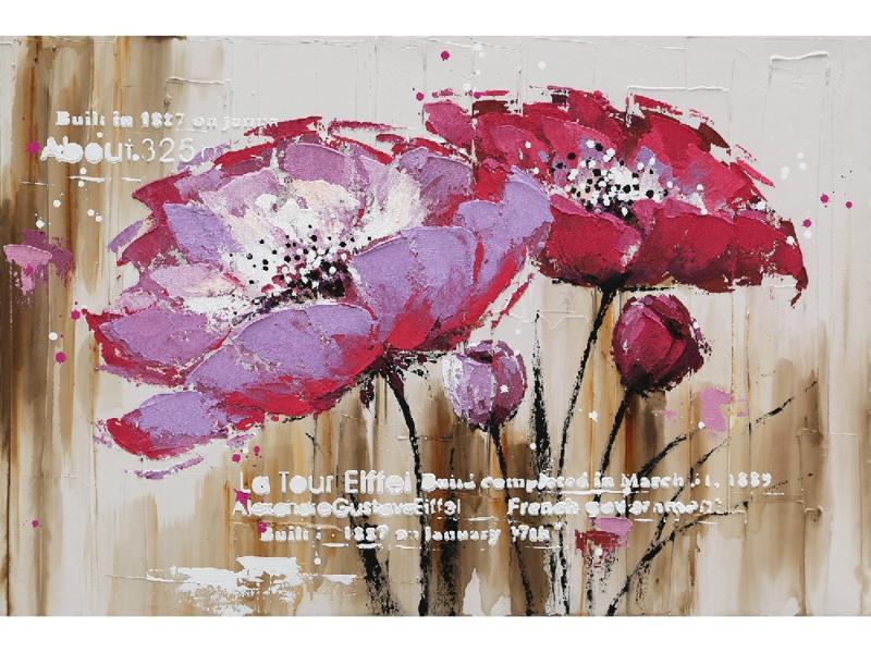 """Bloemen schilderij """"De bloemen"""" TBW4580sc"""