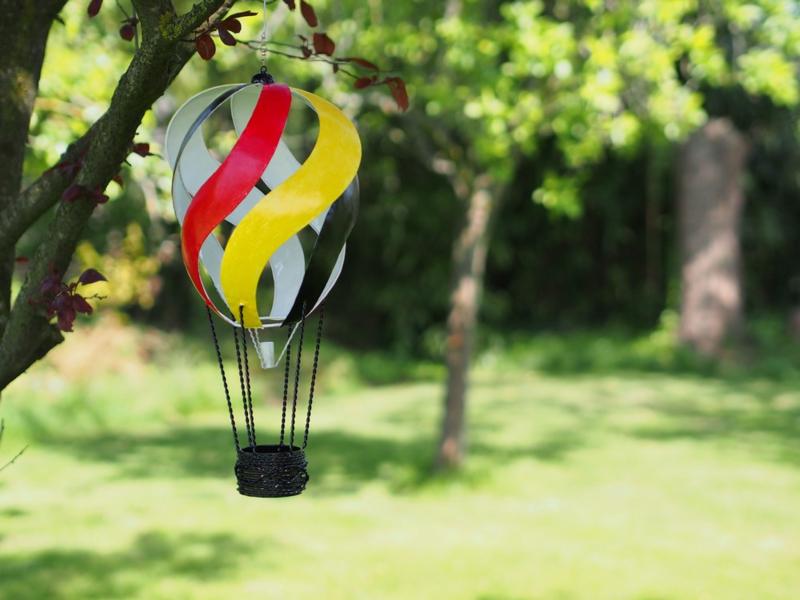 "Metalen figuur ""Luchtballon 1"" TBW16153me"