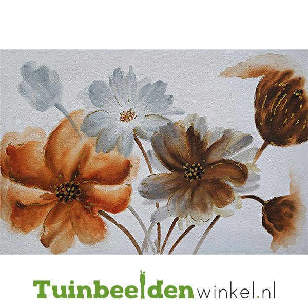 Olieverf schilderij bloemen ''Bloemen'' TBW005912sc