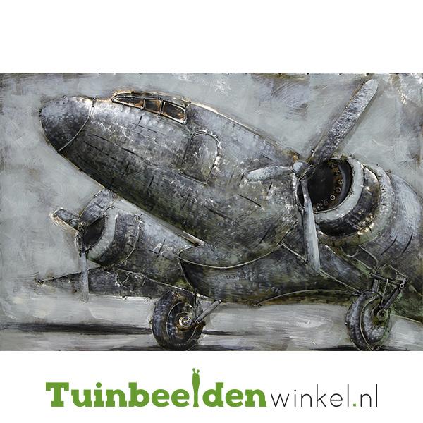 """Vliegtuig schilderij """"Het vliegtuig"""" TBW80120031sc"""