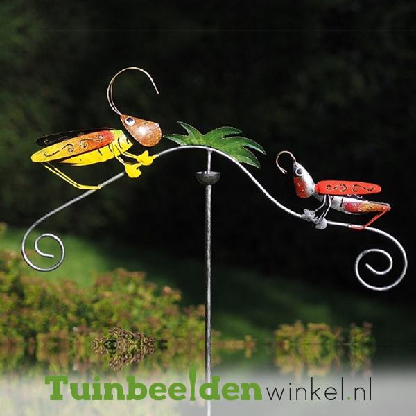 "Tuinsteker balans ""De twee sprinkhanen"" TBW16005me"