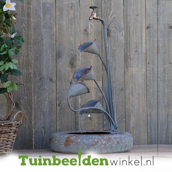 Metalen figuur ''Waterkraantje tulpen'' TBW89719