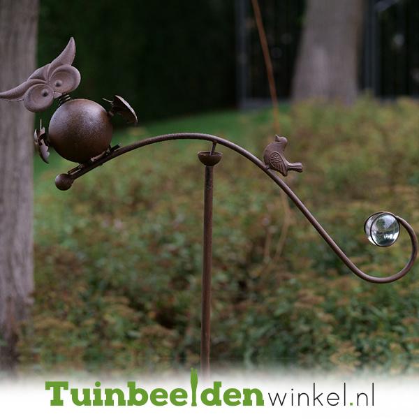 Tuinsteker balans ''Twee vogeltjes'' TBW13290