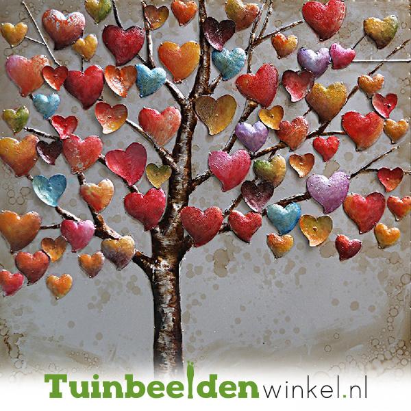 Bloemen schilderij ''De liefdesboom'' TBW001564