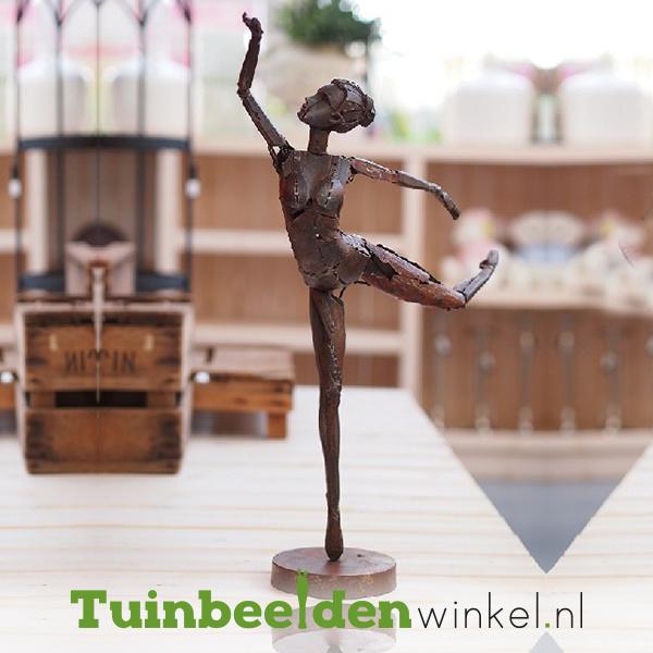 """Metalen figuren """"De dansende vrouw"""" TBW310018me"""