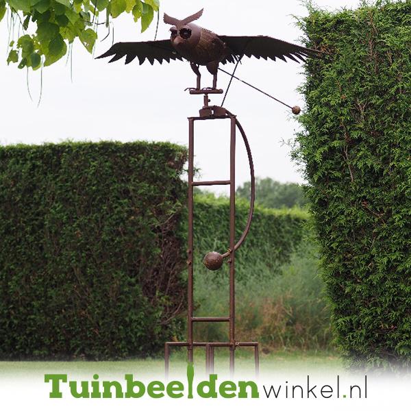 Tuinsteker balans ''De gigantische uil'' TBW17606