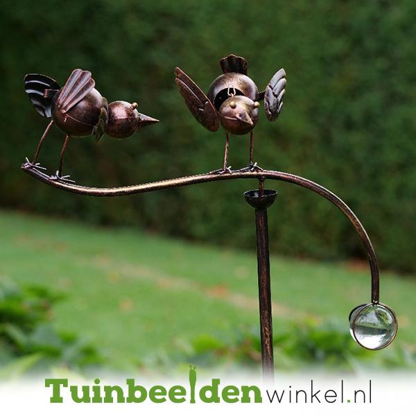 Tuinsteker balans ''De twee vogeltjes'' TBW13138