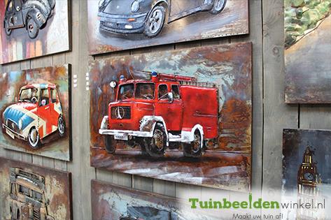 Auto schilderij