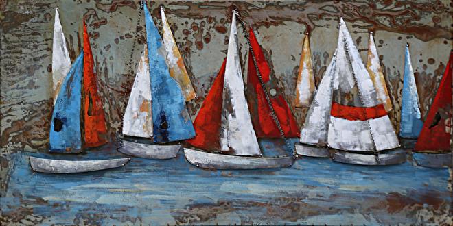 Boten schilderij kopen