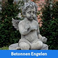 Engelen beelden van beton