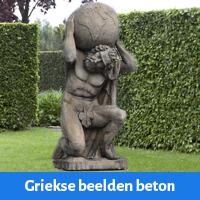 Griekse beelden beton