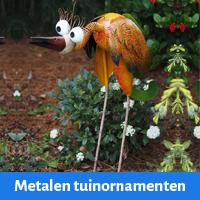 metalen tuinornamenten