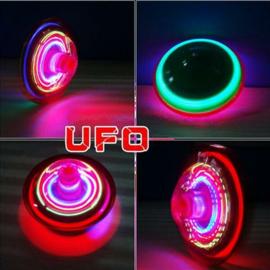 12 stuks Lichtgevende LED UFO tolletjes - uitdeelcadeautjes