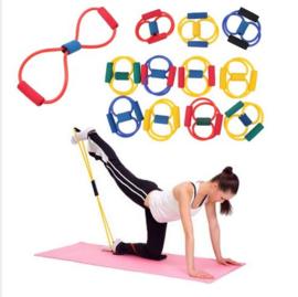 2 stuks Fitness Yoga elastiek weerstand 8 - weerstandselastiek