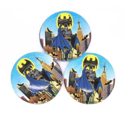10 stuks kartonnen bordjes Batman