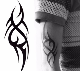 Tattoo tansfer / tijdelijke tattoo tribal