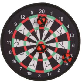 Klittenband dartbord 28cm
