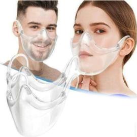 Luxe mondmasker transparant