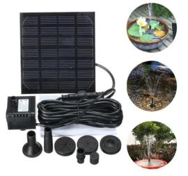 Mini Solar power paneel waterpomp - waterfontein