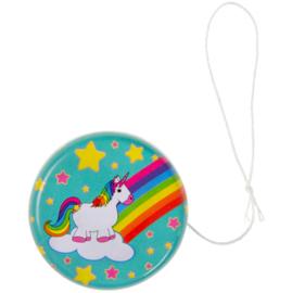 6 stuks jojo Unicorn 5 cm
