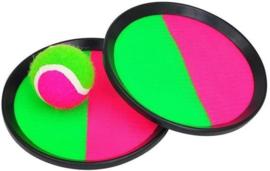 Catch vangbal set roze groen
