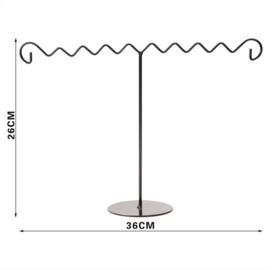 Metalen sieraden display 26x36 cm