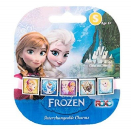 Frozen armband met 5 verwisselbare charms
