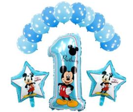 13 stuks ballonnen Mickey Mouse