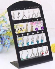 Oorbellen display voor 24 paar oorbellen