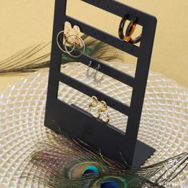 Oorbellen display voor 16 paar oorbellen