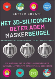 2 stuks mondmasker houder voor beter te ademen
