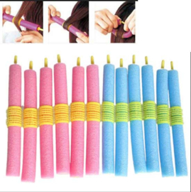 Soft Foam Hair Curler Haarkrulset