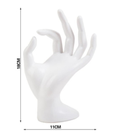 Display hand wit
