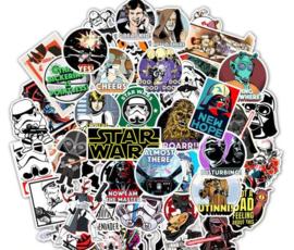 50 stuks Star Wars Stickers 4x6 cm
