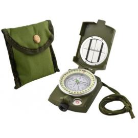 Militaire outdoor kompas met opbergzakje