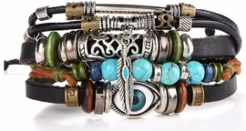 Vintage armband turks oog