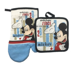 Set pannelap + ovenwant Mickey Mouse