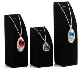 3 Delige sieraden display