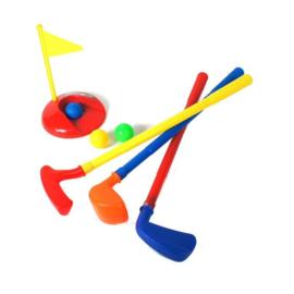 Uitgebreide golf speelset voor kinderen