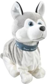 Husky Interactief Hondje / Pluche Hond Ze blaft, snuffelt, beweegt