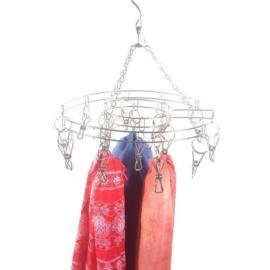 Display voor 16 sjaaltjes