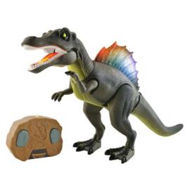Lopende robot dinosaurus met geluid en licht