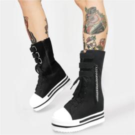 Gothic laarzen zwart maat 38