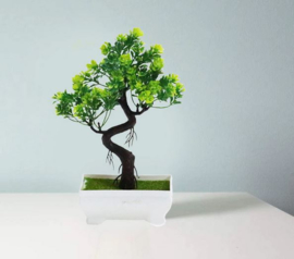 Kunst bonsai boompje 18x24 cm
