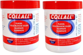 2 potjes Collall plaksel 150 gram