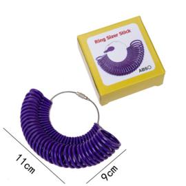 Ring sizer tool