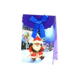 12 stuks kerst cadeautasjes 7.5x11x4cm