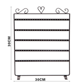 Metalen sieraden display 30x38 HxB