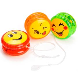 4 stuks jojo Smiley met licht